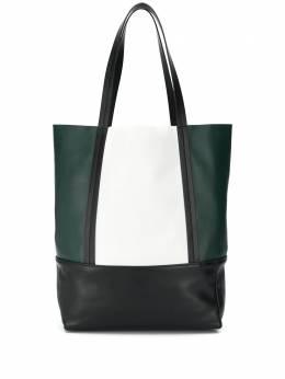 Plan C сумка-шопер с контрастными вставками SHCBA04G00