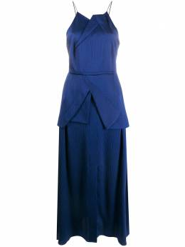 Roland Mouret атласное платье Chora PW20S0923F0021