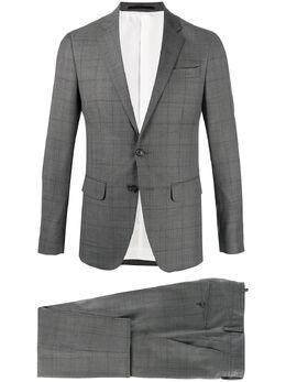 Dsquared2 клетчатый костюм с однобортным пиджаком S74FT0318S48442