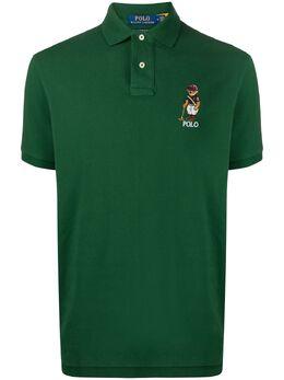 Polo Ralph Lauren рубашка поло с вышитым логотипом 710803538004