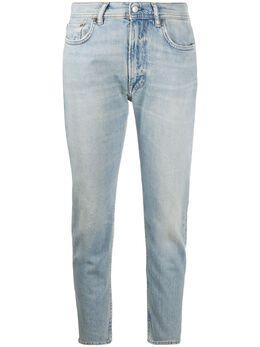 Acne Studios укороченные джинсы кроя слим A00213