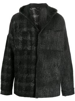 Avant Toi куртка с капюшоном 220U7751MALVH