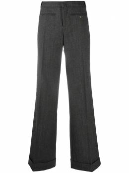 Gucci Pre-Owned расклешенные брюки строгого кроя CVM202121