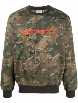 Carhartt Wip джемпер с камуфляжным принтом I02709203