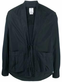 Visvim куртка-рубашка с завязками 0120205011015