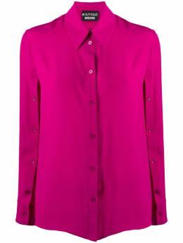 Boutique Moschino рубашка с пуговицами на рукавах A02065837