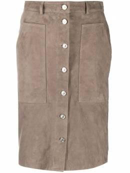 Allsaints юбка на пуговицах LORELWI111S
