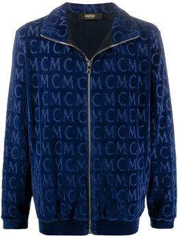 MCM куртка на молнии с логотипом MHJAAMD01