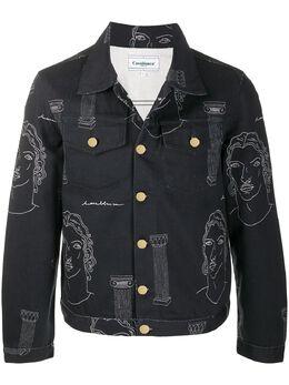 Casablanca джинсовая куртка Sid MJK003