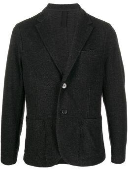 Harris Wharf London однобортный пиджак узкого кроя C8P22MYN