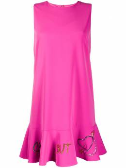 Boutique Moschino платье мини с оборками A04305824