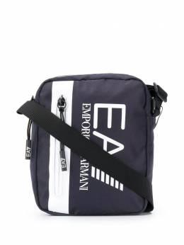 Ea7 сумка-мессенджер с логотипом 275665CC982