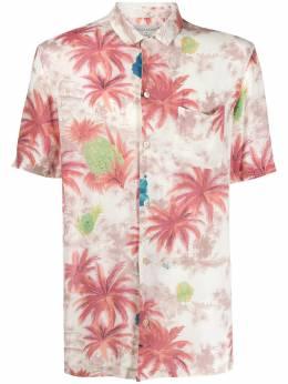 Allsaints рубашка поло с принтом KANALOAMS143S
