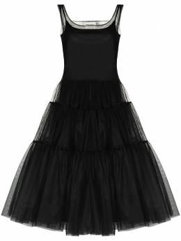 Molly Goddard ярусное платье из тюля MGAW2028CORRIEDRESS