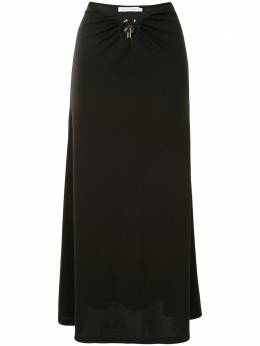 Christopher Esber декорированная юбка миди Orbit PF20SK01B