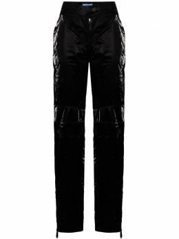Mugler брюки прямого кроя 20W1PA0307839