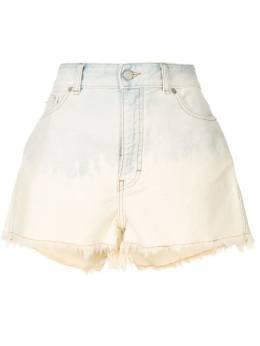 Iro джинсовые шорты с бахромой WP30OLSEK