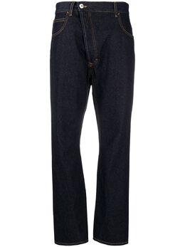 Vivienne Westwood Anglomania джинсы кроя слим со смещенной застежкой 1902002011666