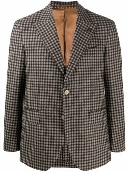 Gabriele Pasini пиджак строгого кроя в клетку G16067YGP16465