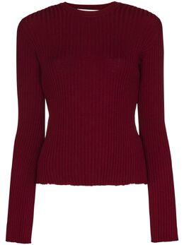 Marques'Almeida свитер в рубчик AW20KN0072MKN