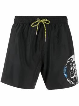 Diesel плавки-шорты с логотипом 00SV9U0TAXQ