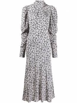 Ba&sh платье миди Emilie с цветочным узором 1H20EMIL