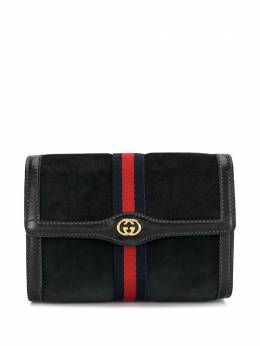 Gucci Pre-Owned клатч Accessory Collection Sylvie с отделкой Web 370393088