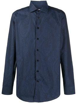 Etro рубашка с принтом пейсли 114513208