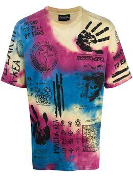 Mauna Kea футболка с принтом тай-дай MKU117
