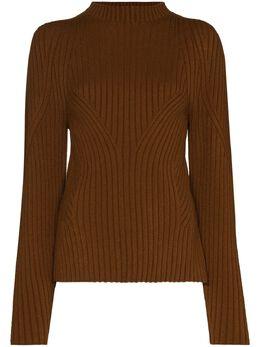 Low Classic свитер с воротником-стойкой и вырезом на спине LOW20FWKN16CA