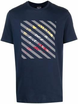 Paul & Shark футболка с геометричным принтом E20P1083