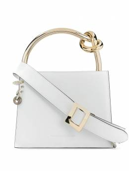 Benedetta Bruzziches сумка-тоут Anais с металлическим декором ANAISMILKANDPIERCINGS