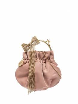 Rosantica мини-сумка Barbie с бантом из кристаллов B361ORCRIROSS