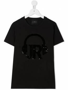 John Richmond Junior футболка с пайетками RGA20005TSG9