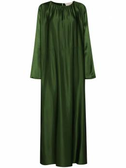 Asceno платье-кафтан Rhodes длины макси D015F26C106BAMBOOSATIN