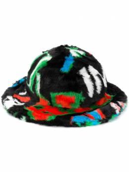Kirin шляпа из искусственного меха с логотипом KWLA003F20FAB0011055