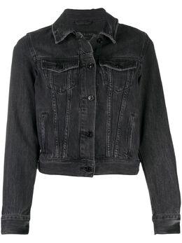Allsaints джинсовая куртка узкого кроя HAYWO067S