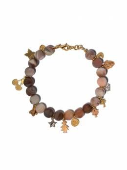 Carolina Bucci золотой браслет Lucky Charms с солнечным камнем CB90808SSYW