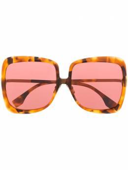 Fendi Eyewear солнцезащитные очки в массивной квадратной оправе 203350HJV62U1
