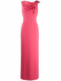 Paule Ka вечернее платье с драпировкой 180R043L