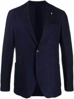 Lardini пиджак на пуговицах IMLKJ1EIM55036