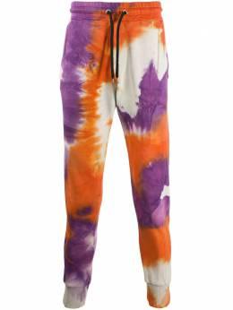 Mauna Kea спортивные брюки с принтом тай-дай MKU227TLR11