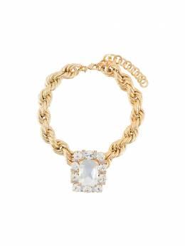 Alessandra Rich чокер с кристаллами FABA2227J024