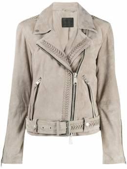 Allsaints байкерская куртка с бахромой ROSENWL051S