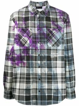 Mauna Kea клетчатая рубашка с принтом тай-дай MKU136TDY18