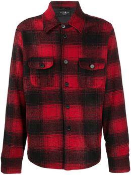 Hydrogen клетчатая куртка-рубашка 270306