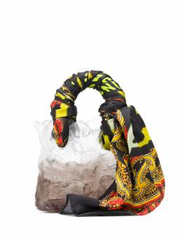 Ottolinger сумка-тоут Ceramic с платком AW19AC04
