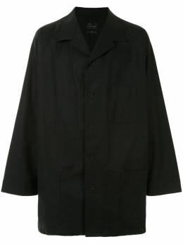 Yohji Yamamoto легкая куртка-рубашка HRB125