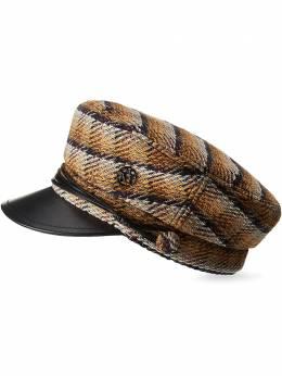 Maison Michel кепка New Abby с узором 2213048001