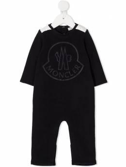 Moncler Kids комбинезон с вышитым логотипом F29518O60000899AH